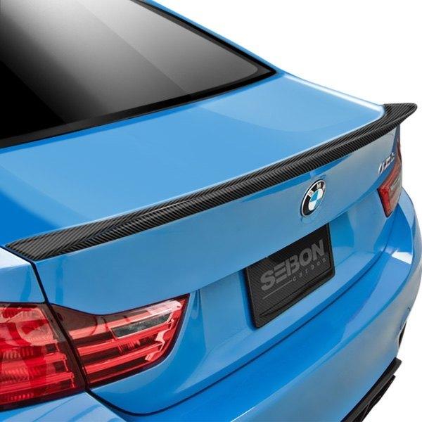 Seibon Bm Style Carbon Fiber Rear Lip Spoiler