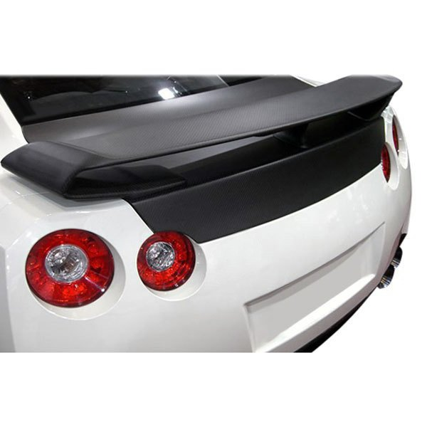 Seibon® - OE-Style Carbon Fiber Trunk Lid with Spoiler Holes