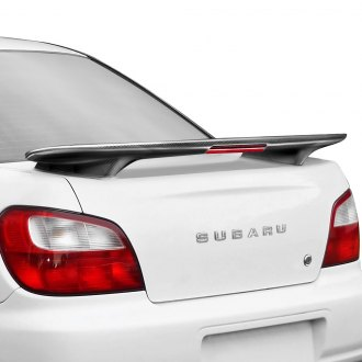 Seibon® - Factory Style Carbon Fiber Rear Spoiler with Light