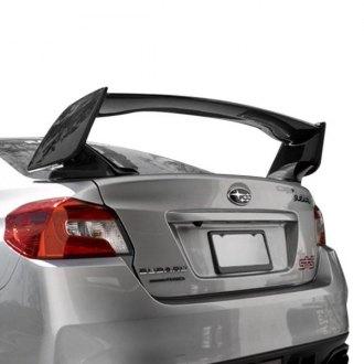 Seibon Sti Style Gloss Carbon Fiber Rear Spoiler