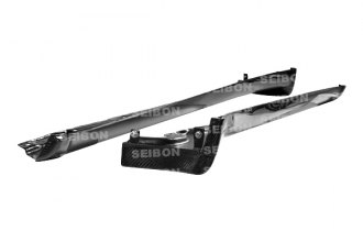 Seibon® - OEM-Style Carbon Fiber Side Skirts