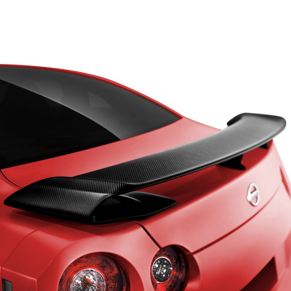 Seibon® - OEM-Style Dry Carbon Rear Spoiler Installed