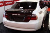 SEIBON® - CSL-Style Carbon Fiber Trunk Lid Installed