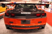 SEIBON® - OEM-Style Carbon Fiber Trunk Lid Installed