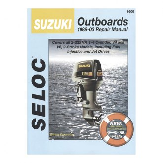 Seloc® - Service Manual Suzuki All 2 Stroke Outboards 1988-03