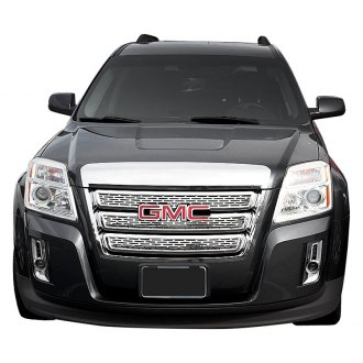 SES Trims® - 3-Pc Custom Style Chrome Main Grille