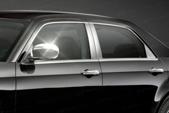 Image may not reflect your exact vehicle! SES Trims® - Chrome Mirror Covers