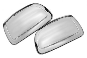 SES Trims® - Chrome Mirror Covers Partial Coverage