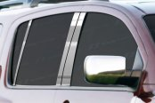 Image may not reflect your exact vehicle! SES Trims® - Stainless Steel Pillar Posts