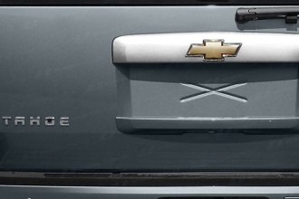 SES Trims® RH145 - Upper Rear Hatch Molding with Logo