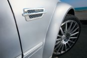 Image may not reflect your exact vehicle! SES Trims® - Chrome Small Side Vents