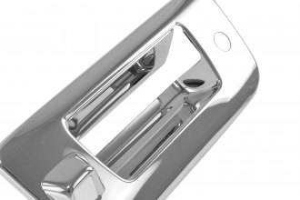SES Trims® TG153C - Chrome Tailgate Handle Cover