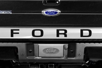 SES Trims® - Chrome Lower Tailgate Accent with Ford Cut Out