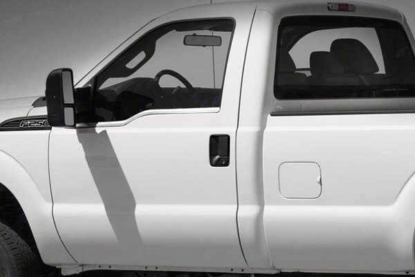 Image may not reflect your exact vehicle! SES Trims® - Chrome Window Sills