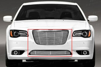 SES Trims® - Chrome Stainless Steel Main and Bumper Billet Grille