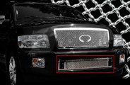 SES Trims® - Chromed Stainless Steel Bumper Mesh Grille