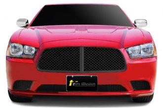 SES Trims® - Black Mesh Grille