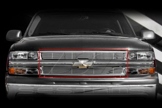 SES Trims® - Chromed Stainless Steel Main Billet Grille