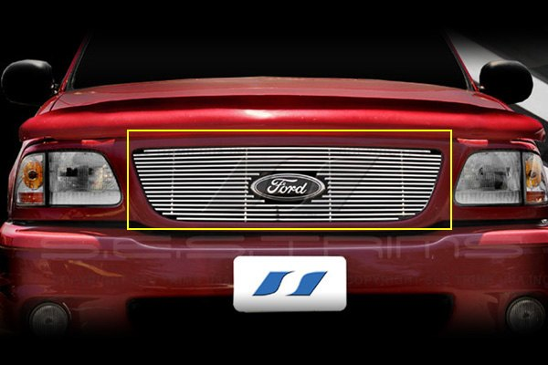 SES Trims® - Chrome Stainless Steel Main Billet Grille