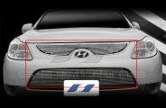 SES Trims® - Chromed Stainless Steel Main and Bumper Billet Grille