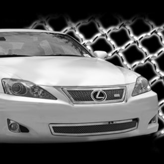 SES Trims® - Chrome Main and Bumper Mesh Grille
