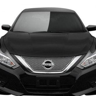 2017 Nissan Altima Custom Grilles Billet Mesh Led Chrome Black