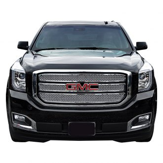SES Trims® - 3-Pc Chrome Mesh Main Grille