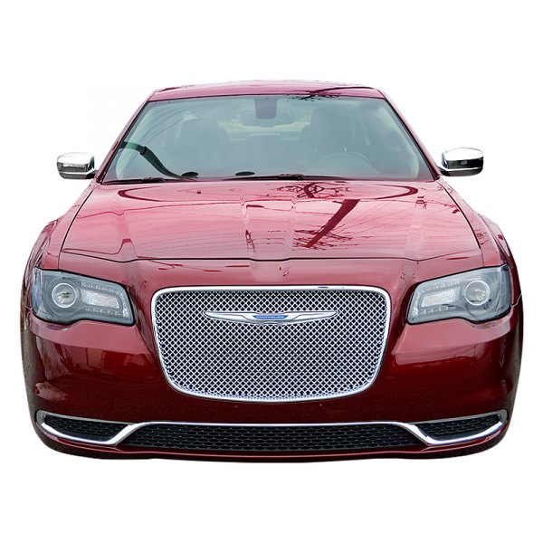 Chrysler 300 2015-2017 1-Pc Chrome Mesh Grille