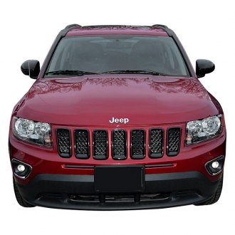 2016 jeep compass wire mesh grilles. Black Bedroom Furniture Sets. Home Design Ideas