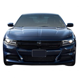 ses trims 1 pc gloss black mesh main grille - Dodge Charger 2015 Exterior