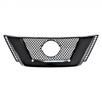 SES Trims® - 1-Pc Gloss Black Main Grille