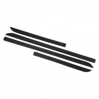 SES Trims® - Matte Black Body Side Moldings