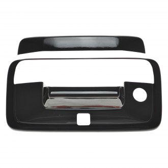 SES Trims® - Gloss Black Tailgate Handle Cover