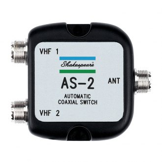 Shakespeare® - Automatic Coaxial Switch for 1 Antenna, 2 Radios