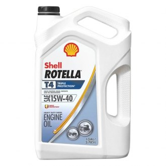 Shell® - Rotella™ T4 Triple Protection Heavy Duty Diesel Engine Oil
