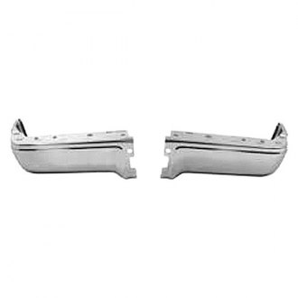 Sherman® - Rear Driver and Passenger Side Bumper Face Bar