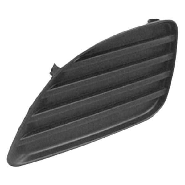 sherman toyota camry base le se xle 2011 front bumper insert fog light hole cover. Black Bedroom Furniture Sets. Home Design Ideas