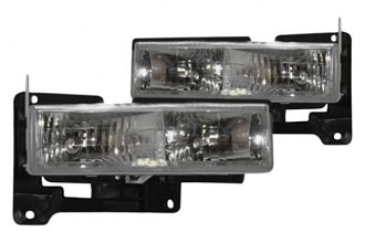 Sherman® - Crystal Projection Beam Headlights Set