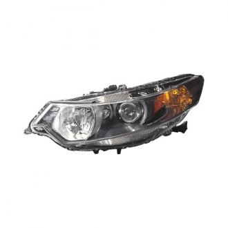 Acura Custom Factory Headlights Projector Led Euro Halos