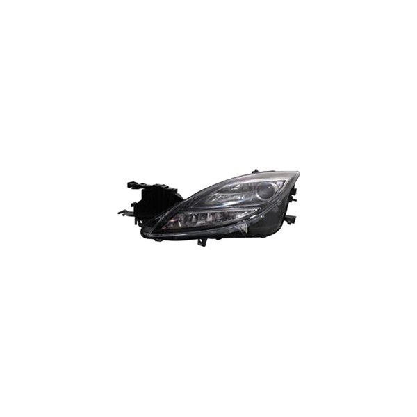 sherman mazda 6 with factory hid xenon headlights 2009 replacement headlight lens and housing. Black Bedroom Furniture Sets. Home Design Ideas