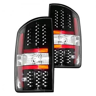Sherman® - Black LED Tail Lights