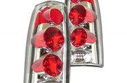 Sherman® - Replacement Clear Tail Light Set Lens/Housing