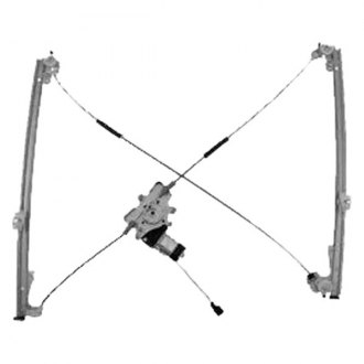 Sherman® - Front Power Window Regulator and Motor Assembly