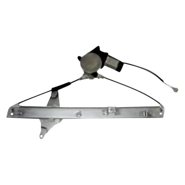 Sherman® - Front Driver Side Power Window Regulator with Motor
