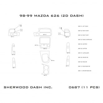 Sherwood® - Interior Dash Kit