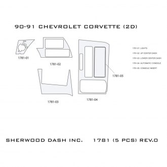 Sherwood® - 2D Standard Dash Kit