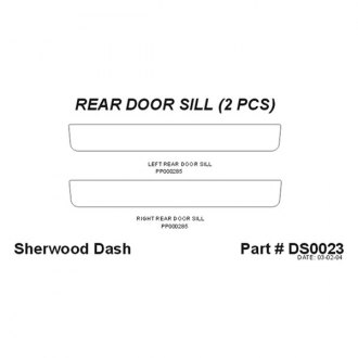 Sherwood® - Rear Door Sills