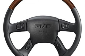 Sherwood® - Steering Wheel with Zebrano Inserts and Charcoal Leather
