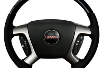 Sherwood® - Steering Wheel with Charcoal Cherry Inserts and Light Titanium Leather