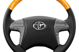 Sherwood® - Steering Wheel with Olive Wood Factory Match Inserts and Ash Leather